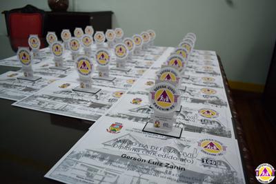Defesa Civil Municipal homenageia parceiros