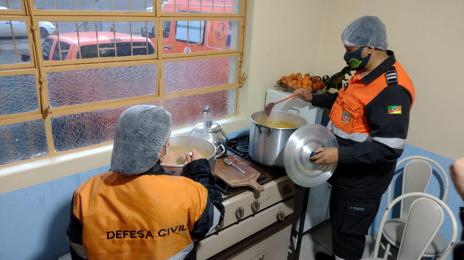 Equipes intensificam Ronda Solidária devido ao frio