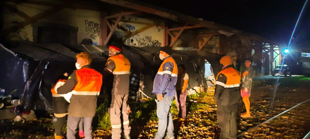 Assistência Social, Defesa Civil e Força Voluntária realizam 'Ronda Aquecendo a Alma'